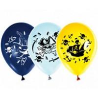 Прочие 13-709353 Шар воздушный 12 Пираты (стандарт, набор 5шт), AVP5032 (АВ-Принт)