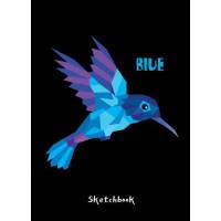 Проф-Пресс 13-832232 Скетчбук Колибри. Blue (А5), (Проф-Пресс, 2019), 7Б, c.160