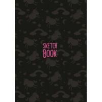 Проф-Пресс 13-834171 Скетчбук Единороги (черный) (розовые листы) (А5), (Проф-Пресс, 2020), 7Б, c.160