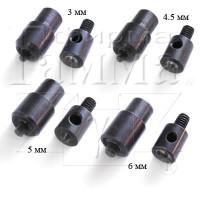 Прочие №1.7-5 №1.7-5 Насадка для люверсов, блочек № 4 6 мм