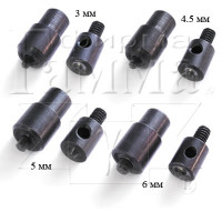 Прочие №1.7-5 №1.7-5 Насадка для люверсов, блочек № 2 4.5 мм