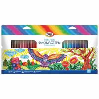 """Гамма 180319_14 Фломастеры ГАММА """"Классические"""", 36 цветов, вентилируемый колпачок, картонная упаковка, 180319_14"""