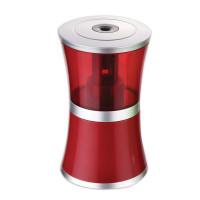 "Brauberg 223568 Точилка электрическая BRAUBERG ""Office style"", питание от USB/4 батареек АА, красная, 223568"
