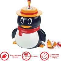 """Brauberg 223569 Точилка электрическая BRAUBERG """"Пингвин"""", питание от USB/4 батареек АА, 223569"""