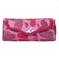"Brauberg 223904 Пенал-косметичка BRAUBERG, полиэстер, розовый, ""Каприз"", 21х5х8 см, 223904"