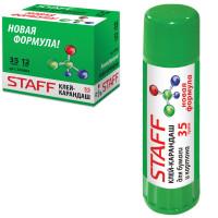 """STAFF 225002 Клей-карандаш STAFF """"Profit"""", 35 г, PVP-основа, новая формула, РОССИЯ, 225002"""