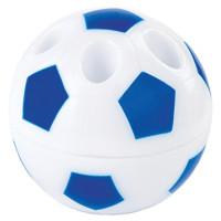 """ПИФАГОР 228443 Точилка ПИФАГОР """"Мяч"""", с контейнером, подставка для 4-х карандашей, пластиковая, ассорти, 228443"""