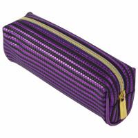 "Brauberg 229022 Пенал-косметичка BRAUBERG, мягкий, ""Royal"", фиолетовый, 19х6х6 см, 229022"