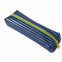 "Brauberg 229023 Пенал-косметичка BRAUBERG, мягкий, ""Royal"", голубой, 19х6х6 см, 229023"