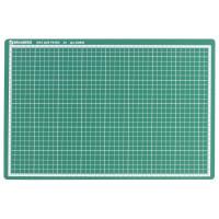 Brauberg 236904 Коврик (мат) для резки BRAUBERG 3-слойный, А3 (450х300 мм), двусторонний, толщина 3 мм, зеленый, 236904