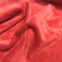 23695 Мех М-1409 коротковорсовый 3мм,  50*50см, 100% п/э,  цв. красный (101)
