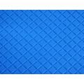 """Прочие 26860 Кожа искусственная DDV-04 """"Ромб"""", 20*30 см., толщина 0,85 мм, в уп.- 2 листа, цв. голубой"""