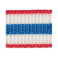 Прочие 3823 (3824) Стропа 30 мм 3823 (3824) ФАСОВКА 2.5 м красный/белый/синий