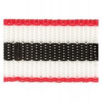 Прочие 3823 (3824) Стропа 30 мм 3823 (3824) ФАСОВКА 2.5 м красный/белый/черный