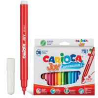 """CARIOCA 40616 Фломастеры CARIOCA (Италия) """"Joy"""", 36 цветов, суперсмываемые, 40616"""