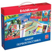 ERICH KRAUSE 45413 Набор для первоклассника в подарочной упаковке ERICH KRAUSE, 43 предмета, 45413