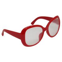 Прочие 502445-00002 26504 Очки со стеклом, пластик, 8,5 см, 1шт (красный)