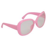Прочие 502445-00004 26504 Очки со стеклом, пластик, 8,5 см, 1шт (св.розовый)