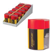 """STAEDTLER 511004 Точилка STAEDTLER (Германия) """"Noris"""", с контейнером, пластиковая, круглая, 511004"""