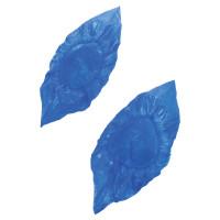 ЛАЙМА  Бахилы КОМПЛЕКТ 30 штук (15 пар), СВЕРХПРОЧНЫЕ, двойная резинка, 39х14 см, 100 мкм, 10 г, ЛАЙМА, 104981