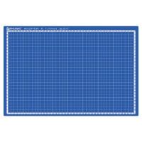 Brauberg  Коврик (мат) для резки BRAUBERG EXTRA 5-слойный, А3 (450х300 мм), двусторонний, толщина 3 мм, синий, 237177