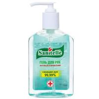 """SANITELLE  Гель для рук антисептический спиртосодержащий (62%) с дозатором 250 мл SANITELLE (Санитель), """"Алоэ"""", с витамином Е"""