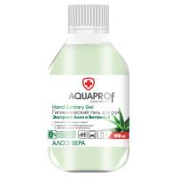 AQUAPROF  Антисептик-гель для рук спиртосодержащий (70%) 100мл AQUAPROF Алоэ Вера
