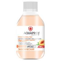 AQUAPROF  Антисептик-гель для рук спиртосодержащий (70%) 100мл AQUAPROF Экзотический