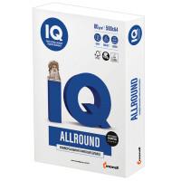 IQ  Бумага офисная IQ ALLROUND, А4, 80 г/м2, 500 л., марка В, Mondi, белизна 162%