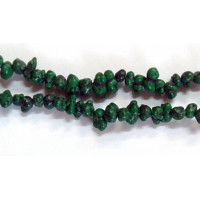 Бусы камушки (на леске), 90 см Цвет  Бусы камушки (на леске), 90 см (зелёный)