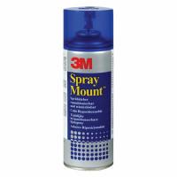SCOTCH (3M) 7243 Клей-спрей Scotch SprayMount, 400 г, баллончик, для больших поверхностей, 7243