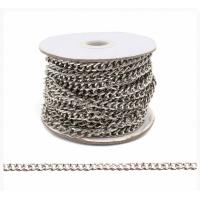 Прочие 7700962 Цепь стальная Y1827, 6.2 х 4.8мм  50 см (никель)