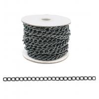 Прочие 7700966 Цепь стальная, Y1611, 10,7 х 7,1мм  50 см (черный никель)