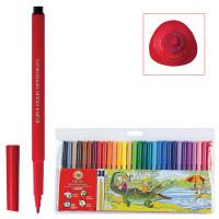 KOH-I-NOOR 771002CJ04TERU Фломастеры KOH-I-NOOR, 30 цветов, смываемые, трехгранные, пластиковая упаковка, европодвес, 771002CJ04TERU