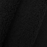 Прочие 7728253 Мех искусственный кудрявый трикотаж 50*50см AR1016 цв. 11 черный