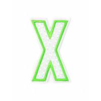 Прочие АДЕ-573-24-12569.022 Аппликация термо буквы кислотный