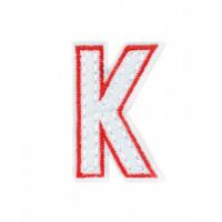 Прочие АДЕ-573-4-12569.024 Аппликация термо буквы красный
