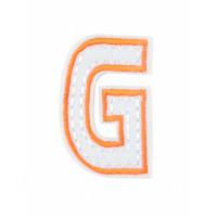 Прочие АДЕ-573-5-12569.018 Аппликация термо буквы оранжевый