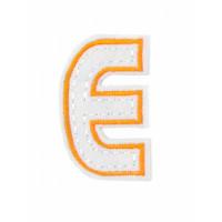 Прочие АДЕ-573-6-12569.021 Аппликация термо буквы оранжевый