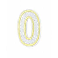 Прочие АДЕ-573-9-12569.008 Аппликация термо буквы желтый