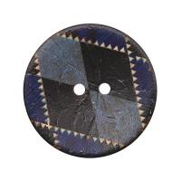 Прочие АРС-12755-1-АРС0001201244 CB R-25 Пуговицы кокос 44L (col.C (синий)) синий