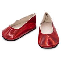 Прочие АРС-31279-1-АРС0001231110 Туфельки 7*4*3см, пара, DSS8261  (красный) красный