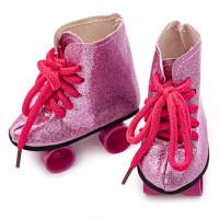 Прочие АРС-31297-1-АРС0001231128 Ботиночки 8*3,5*8см, DSS8279, пара (розовый) розовый