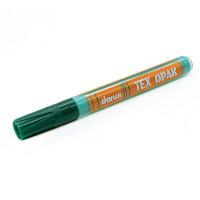 Darwi АРС-32199-1-АРС0001240409 DA0160013 Маркер для ткани Darwi TEX OPAK, 2мм (укрывистый) (626 темно-зеленый) темно-зеленый