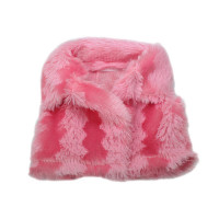 Прочие АРС-6499-1-АРС0001119065 Жилетка для куклы меховая (розовая) розовая