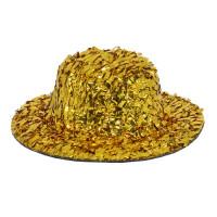 Прочие АРС-9066-1-АРС0001161573 Шляпка для игрушек с блестками, AS07-03,  5см, 2шт/упак (золото) золото