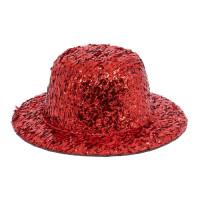 Прочие АРС-9071-1-АРС0001161583 Шляпка для игрушек с блестками, AS07-04,  8см, 2 шт/упак (красный) красный