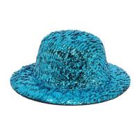 Прочие АРС-9072-1-АРС0001161584 Шляпка для игрушек с блестками, AS07-04,  8см, 2 шт/упак (голубой) голубой
