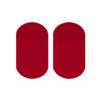Прочие АТЗ-10-1-31434.001 Заплатки иск. замша р.10х18 см красный