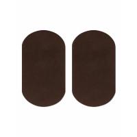 Прочие АТЗ-10-2-31434.002 Заплатки иск. замша р.10х18 см коричневый